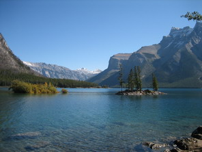 Im banff nationalpark